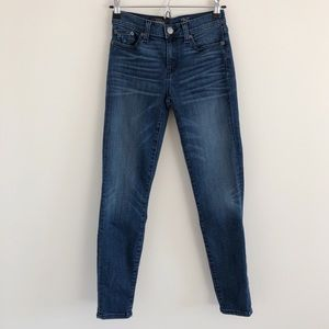 🆕 J. Crew Toothpick Cone Denim Kelly Jean ALTERED